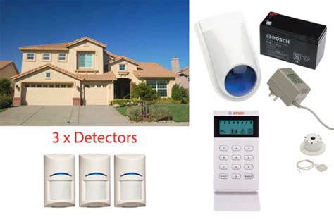 bosch wireless security alarm system two level home 3