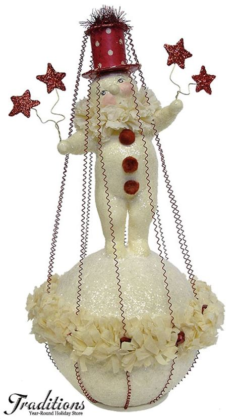paper mache snowman new year decorations ornaments christmas 7 best dee foust collection images on pinterest