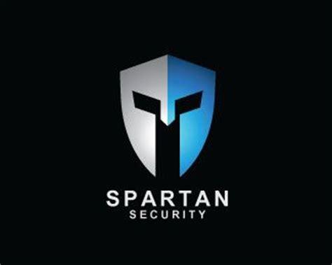 Helm Security Logo by Spartan Security Logo Design Shield And Spartan Helmet