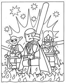 free coloring pages of lego birthday card