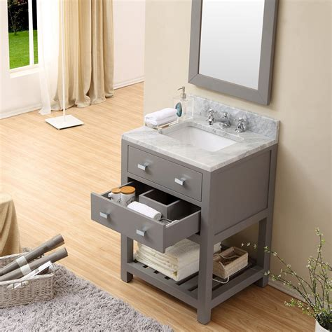 24 vanity with sink cadale 24 inch finish single sink bathroom vanity