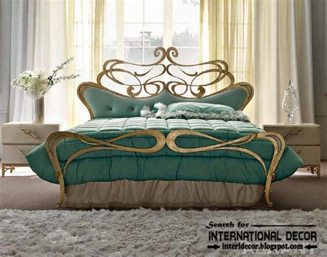 iron bed headboards stylish italian wrought iron beds and headboards 2015
