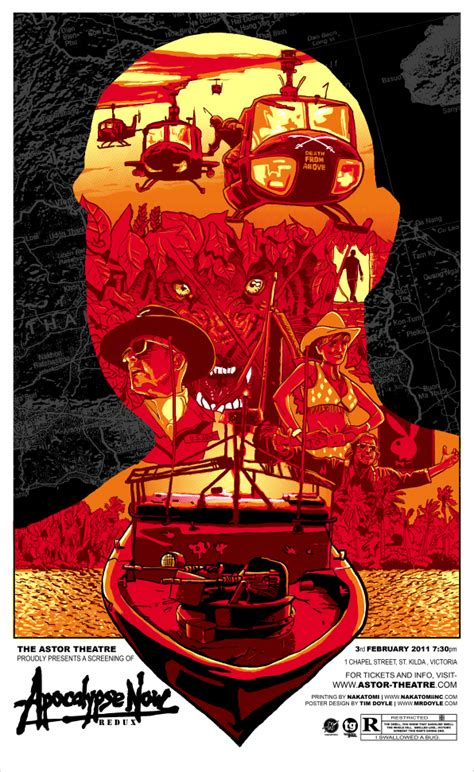 the movie art of re imagined apocalypse now movie poster art geektyrant