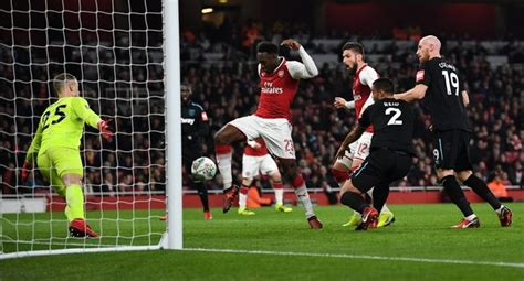 arsenal west ham carabao arsenal pay heavy price for win over woeful west ham