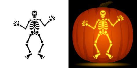skeleton pumpkin templates free skeleton pumpkin stencil