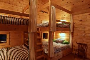 superior Contemporary Living Room Curtains #9: queen-bunk-bed-Bedroom-Rustic-with-bunk-beds-bunkie-cottage.jpg