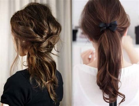 hairstyles quick and easy to do m collection of easy hairstyles for school
