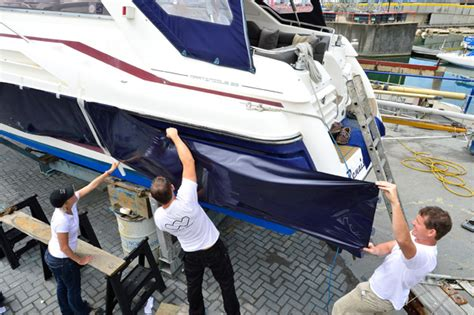 boat shrink wrap new hshire choosing a blue water yacht hull construction grabau