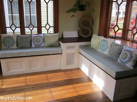 Kitchen Table With Built In Bench Built In Kitchen Bench Design 187 Woodworktips