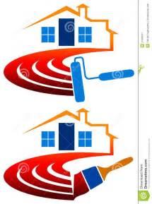 Painting Decorating Logos House Painting Logo Stock Image Image 25456541