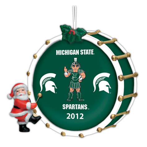 2012 annual michigan state spartans ornament the danbury