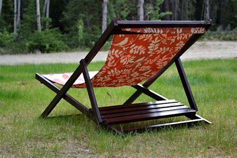 wood folding sling chair deck chair  beach chair