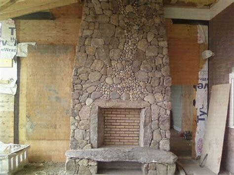 Fieldstone Fireplace Fieldstone Fireplaces New Fieldstone Outdoor Fireplace In Progress Living Dining