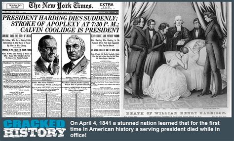 april 4 1841 why do presidents from ohio die in office