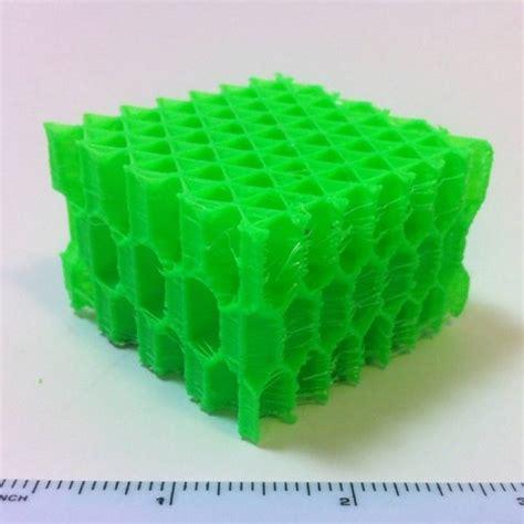 design concept honeycomb 3d printable 3d honeycomb infill concept by michael graham