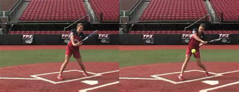 jessica mendoza swing softball players don t hit like a girl hit like an