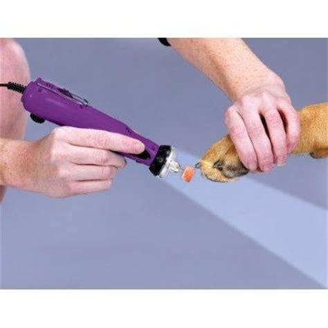nail grinder trimming nails slideshow