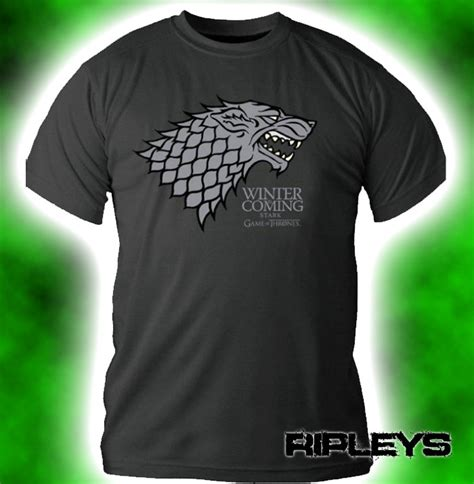 Hoodie Of Thrones House Grey official t shirt of thrones logo grey house stark xl