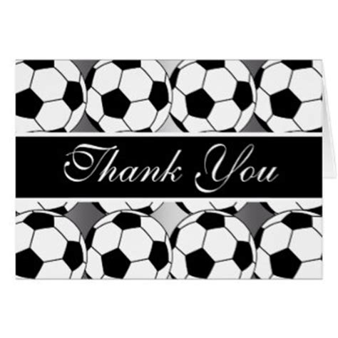 soccer thank you card template soccer thank you cards photo card templates invitations