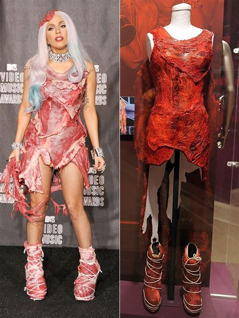 Dress Gaga gaga s vmas dress is now in the rock and roll