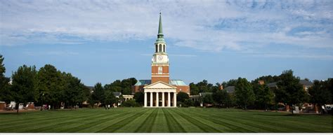 Wfu Mba Tuition by Forest