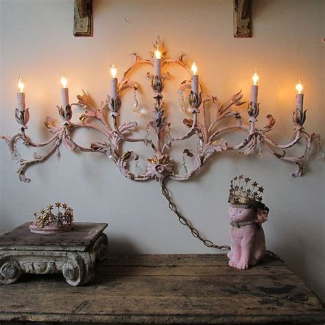 candelabra lighting and home decor large electric sconce lighting french cottage chic tole