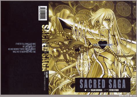 libro sacred a novel libro de arte saint seiya sacred saga de masami kurumada