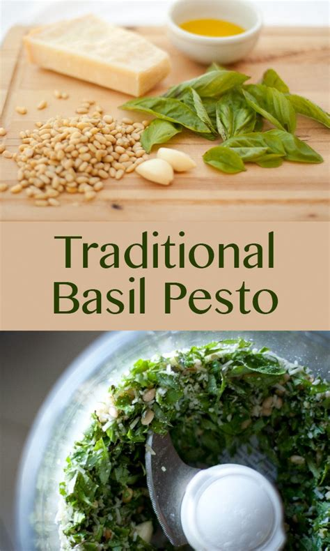 traditional pesto traditional pesto currents