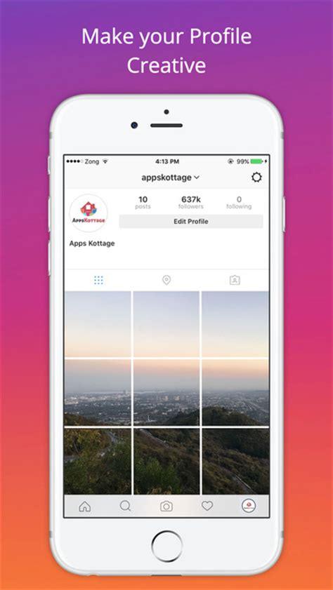 layout app instagram kosten app shopper insta picprofile make your ig profile