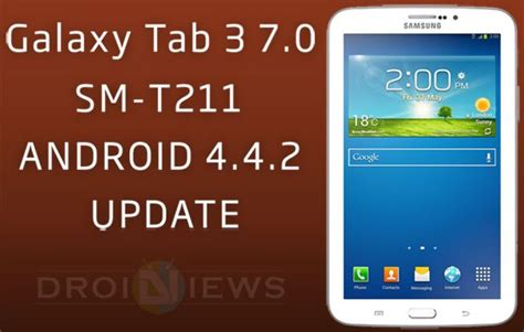 themes for rooted android 4 4 2 update galaxy tab 3 7 0 sm t211 with android 4 4 2 kitkat