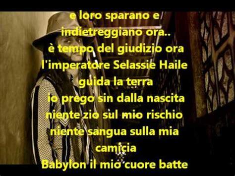 patience testo traduzione alborosie rastafari anthem traduzione in italiano wmv