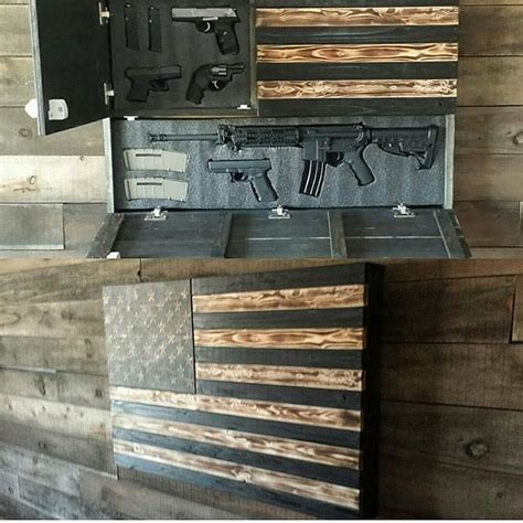 flag gun cabinet best 25 gun storage ideas on gun
