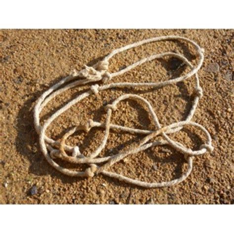 13 knot rope + booklet boutique guédelon