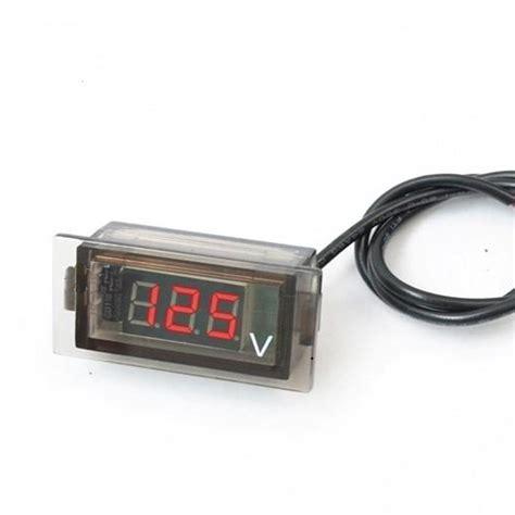 Mini Digital Voltmeter Voltage car auto mini digital led voltage display panel volt meter