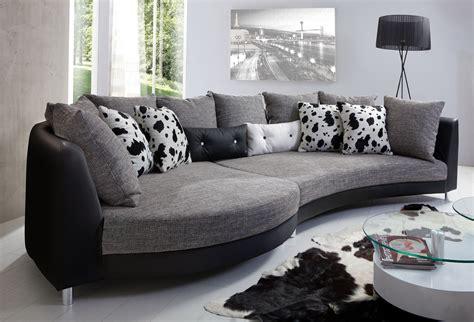 wohnzimmer couches fuentello geschwungene form ecksofas sofas
