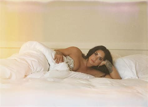 adults in bed hot demi lovato lies in bed in sexy new instagram photo