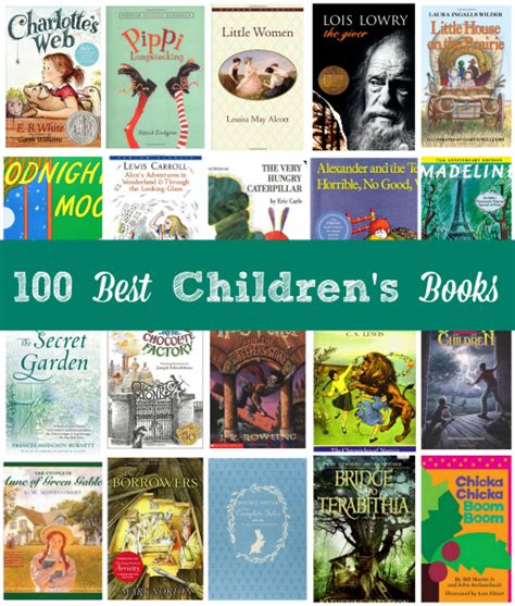 top ten picture books 100 best children s books