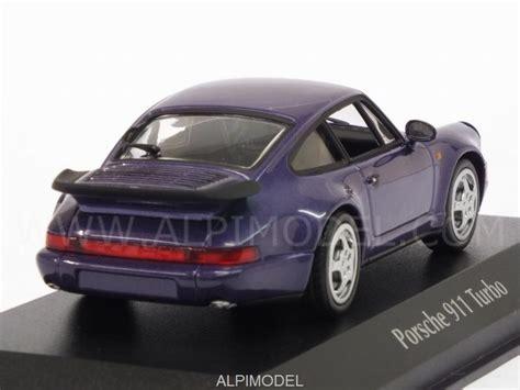 purple porsche 911 turbo minichs 940069100 porsche 911 turbo 964 1990 purple