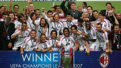 klub sepak bola  gelar juara liga champions terbanyak