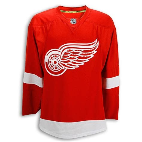 detroit wings authentic home jersey detroit