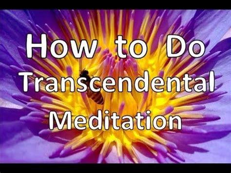 The Secret Mantra learn transcendental meditation free step by step