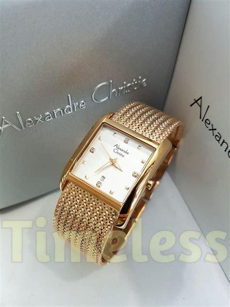 Jam Tangan Wanita Alexandre Christie Ac 8529 Ld Fsv Classic jual jam tangan wanita alexandre christie ac 2565 ld rg di
