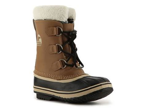 dsw mens snow boots sorel yoot pac tp youth snow boot dsw