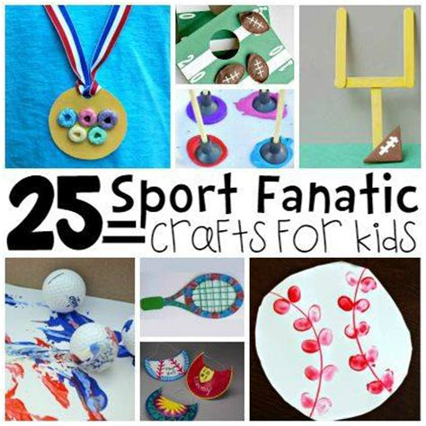 sports themed crafts for 25 sports themed crafts for play ideas