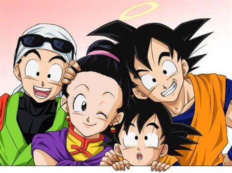 imagenes de goku x caulifla imagenes de goku y su familia imagui