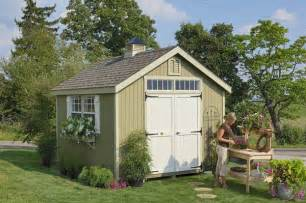 williamsburg colonial wooden outdoor garden shed kit 10