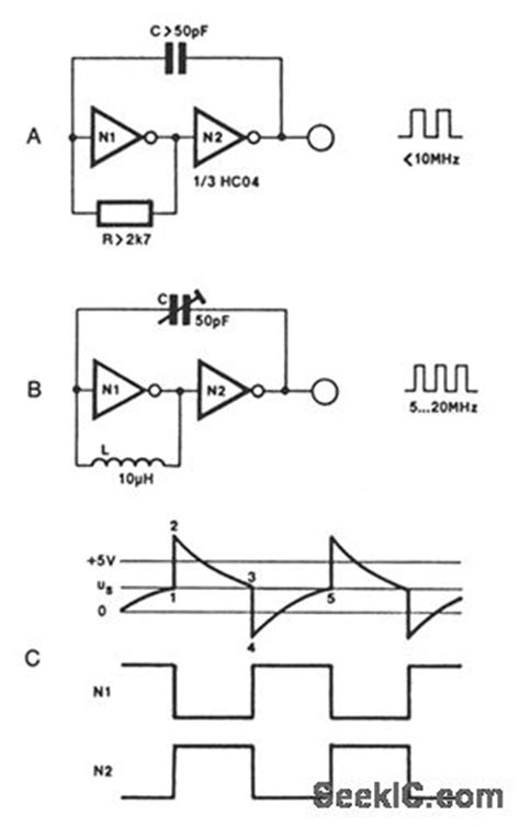 capacitor based oscillator capacitor based oscillator 28 images varicap using a varactor diode to tune a resonance