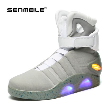 back to the future basketball shoes popular light up basketball shoes buy cheap light up