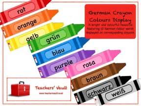 colors in german german crayon colours display by helenrachelcrossley