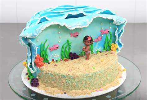 kuchen fuã como decorar una torta de moana m 225 s chicos
